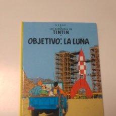 Comics : TINTÍN OBJETIVO LA LUNA TAPA DURA EDITORIAL JUVENTUD 2004 EDICIÓN 22. Lote 222708766