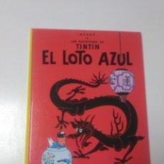 Cómics: TINTÍN EL LOTO AZUL TAPA DURA EDITORIAL JUVENTUD 2005 EDICIÓN 24. Lote 222709611