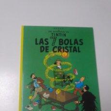 Cómics: TINTÍN LAS 7 BOLAS DE CRISTAL TAPA DURA EDITORIAL JUVENTUD 2002 EDICIÓN 20. Lote 222709863