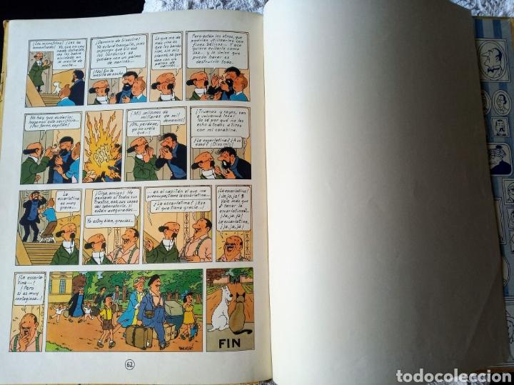 Cómics: TINTÍN EL ASUNTO TORNASOL —HERGÉ— EDITORIAL JUVENTUD PRIMERA EDICIÓN - Foto 3 - 221948565