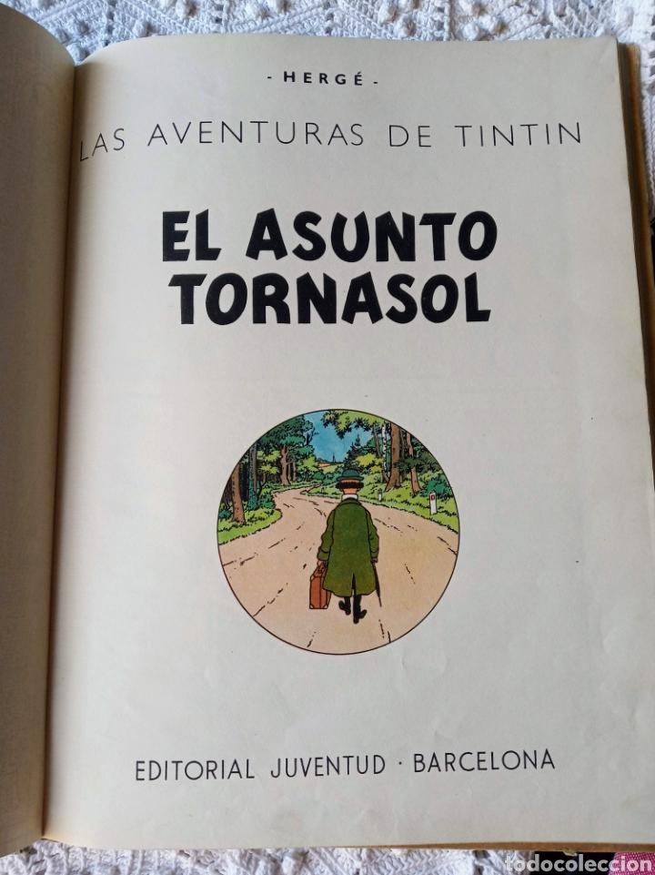 Cómics: TINTÍN EL ASUNTO TORNASOL —HERGÉ— EDITORIAL JUVENTUD PRIMERA EDICIÓN - Foto 9 - 221948565