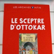 Cómics: ARCHIVOS TINTIN - EL CETRO DE OTTOKAR - LE SCEPTRE D'OTTOKAR - LES ARCHIVES - FRANCES. Lote 222800220