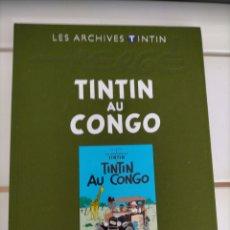 Cómics: ARCHIVOS TINTIN - TINTIN EN EL CONGO - TINTIN AU CONGO - LES ARCHIVES - FRANCES. Lote 222801081