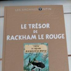 Cómics: ARCHIVOS TINTIN - EL TESORO DE RACKHAM EL ROJO - TRESOR DE RACKHAM LE ROUGE - LES ARCHIVES - FRANCES. Lote 222802715