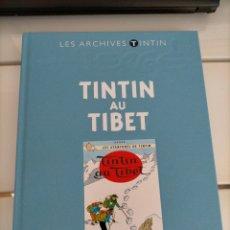 Cómics: ARCHIVOS TINTIN - TINTIN EN EL TIBET - TINTIN AU TIBET - LES ARCHIVES - FRANCES. Lote 222804738