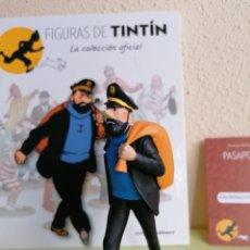 Cómics: FIGURA COLECCIÓN TINTIN -EL CAPITÁN HADDOCK EN MARCHA- Nº 13. Lote 222867187