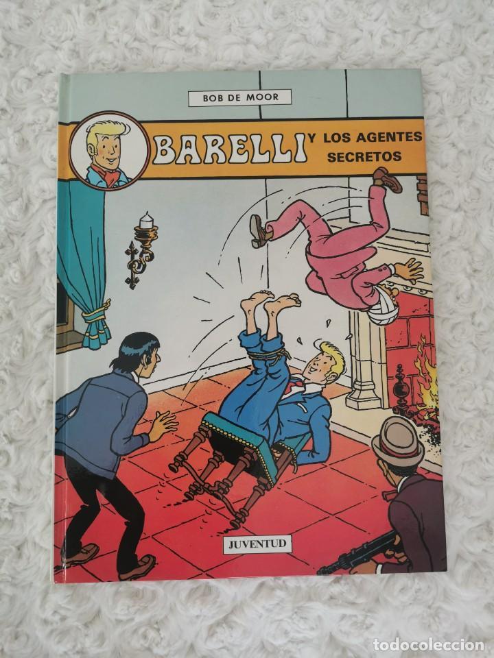 BARELLI Y LOS AGENTES SECRETOS (Tebeos y Comics - Juventud - Barelli)