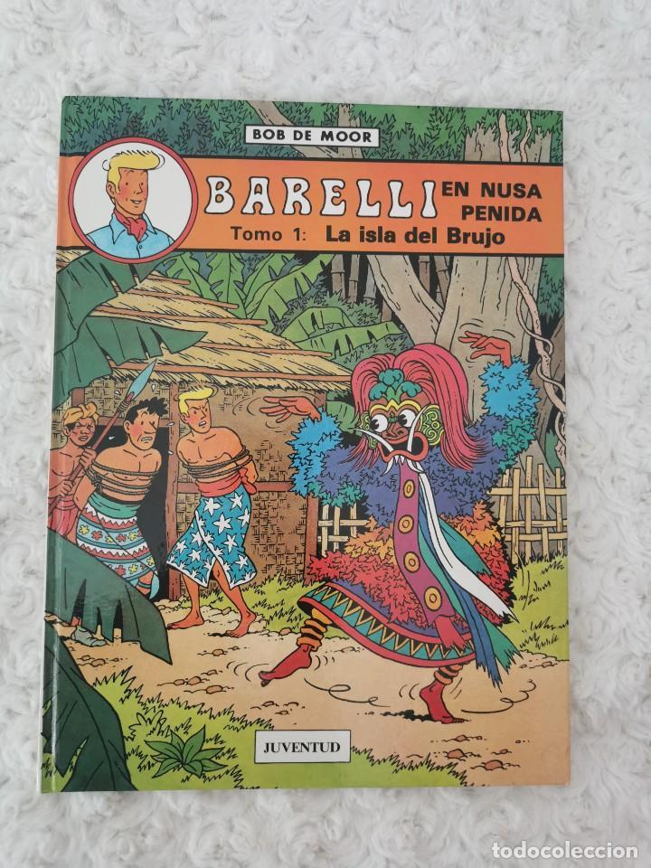 BARELLI EN NUSA PENIDA - TOMO 1 - LA ISLA DEL BRUJO (Tebeos y Comics - Juventud - Barelli)