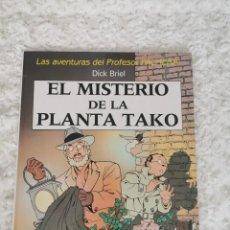 Cómics: LAS AVENTURAS DEL PROFESOR PALMERA - EL MISTERIO DE LA PLANTA TAKO. Lote 222967175