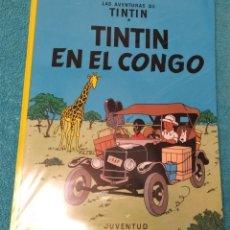 Cómics: LAS AVENTURAS DE TINTÍN: EN EL CONGO. HERGÉ. ÁLBUMES TAPA BLANDA. JUVENTUD.. Lote 269252603