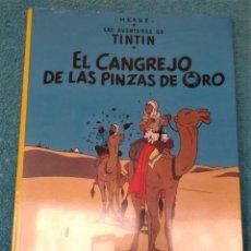 Comics: LAS AVENTURAS DE TINTÍN: CANGREJO DE LAS PINZAS DE ORO HERGÉ ÁLBUMES TAPA BLANDA. JUVENTUD.. Lote 223199653