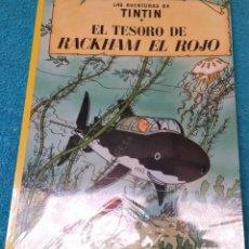 Comics: LAS AVENTURAS DE TINTÍN: EL TESORO DE RACKHAM EL ROJO. HERGÉ ÁLBUMES TAPA BLANDA. JUVENTUD.. Lote 223200528