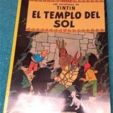 Cómics: LAS AVENTURAS DE TINTÍN: EL TEMPLO DEL SOL. HERGÉ. ÁLBUMES TAPA BLANDA. JUVENTUD.. Lote 244714420