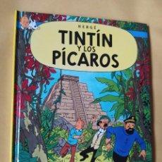 Cómics: EDICIÓN SECUESTRADA-MINI TINTÍN RAREZA-CASTERMAN-TINTÍN Y LOS PÍCAROS -2002-COMO NUEVO. Lote 223489638