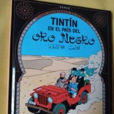 Cómics: EDICIÓN SECUESTRADA-MINI TINTÍN RAREZA-CASTERMAN-EN EL PAÍS DEL ORO NEGRO -2002-COMO NUEVO. Lote 223490326