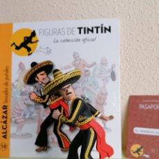 Cómics: FIGURA COLECCIÓN TINTIN -EL GENERAL ALCÁZAR LANZADOR DE PUÑALES- Nº 10. Lote 251388885