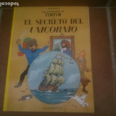 Cómics: TINTIN EL SECRETO DEL UNICORNIO TINTIN HERGE EDITORIAL JUVENTUD 2003 TAPA BLANDA. Lote 224424635
