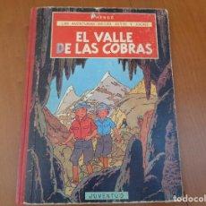 Comics : LAS AVENTURAS DE JO, ZETTE Y JOCKO. EL VALLE DE LAS COBRAS. JUVENTUD. 1ª EDICIÓN 1972. Lote 224760671