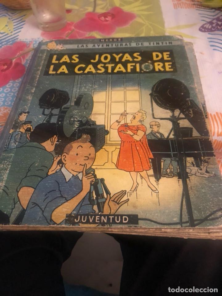 LOTE DE 3 CÓMIC TINTÍN, 2 DE ELLOS PRIMERA EDICIÓN, OTRO SEGUNDA (Tebeos y Comics - Juventud - Tintín)