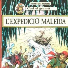 Cómics: CORI EL GRUMET. L'EXPEDICIÓ MALEÏDA. ED. JOVENTUT 1989. 1ª EDICIÓ.. Lote 224831292