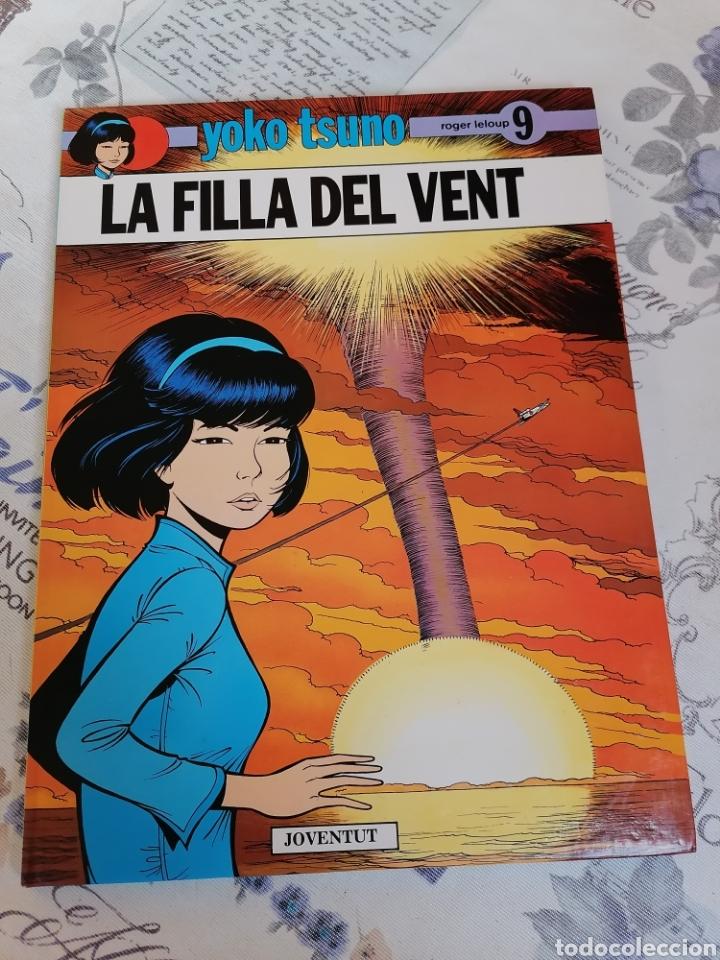 YOKO TSUNO LA FILLA DEL VENT 1ª EDICIÓ EN CATALÀ (Tebeos y Comics - Juventud - Yoko Tsuno)