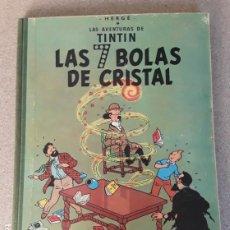 Cómics: TINTIN LAS 7 BOLAS DE CRISTAL JUVENTUD 2.ª EDICIÓN 1967. Lote 224916388