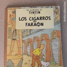 Comics : TINTIN LOS CIGARROS DEL FARAÓN JUVENTUD 2.ª EDICIÓN 1965. Lote 224917481