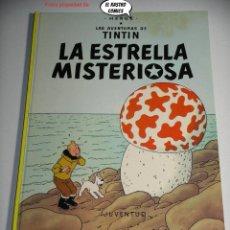 Comics : TINTIN, LA ESTRELLA MISTERIOSA, ED. JUVENTUD AÑO 1982, TAPA DURA.. Lote 225185027