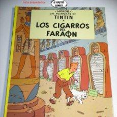 Fumetti: TINTIN, LOS CIGARROS DEL FARAÓN, ED. JUVENTUD AÑO 1983, TAPA DURA.. Lote 225185542