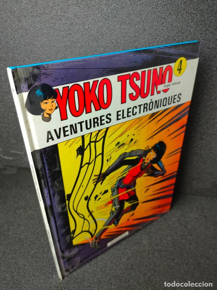 YOKO TSUNO - Nº 4 - AVENTURES ELECTRONIQUES - ROGER LELOUP - CATALAN - JOVENTUT - TAPA DURA (Tebeos y Comics - Juventud - Yoko Tsuno)