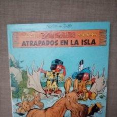 Comics: YAKARI ATRAPADOS EN LA ISLA DERIB+JOB EDICIONES JUVENTUD 1988. Lote 225336526