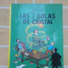 Comics: COMIC LAS AVENTURAS DE TINTIN.HERGE.LAS 7 BOLAS DE CRISTAL.EDITORIAL JUVENTUD.TAPAS BLANDAS.1985. Lote 225609895