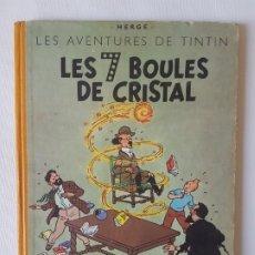 Cómics: LES AVENTURES DE TINTIN - LES 7 BOULES DE CRISTAL- (B5) 1951 REPRINT. Lote 226236065