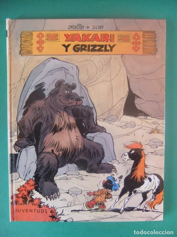 YAKARI Nº 5 YAKARI Y EL GRIZZLY JUBENTUD 1981 (Tebeos y Comics - Juventud - Yakary)