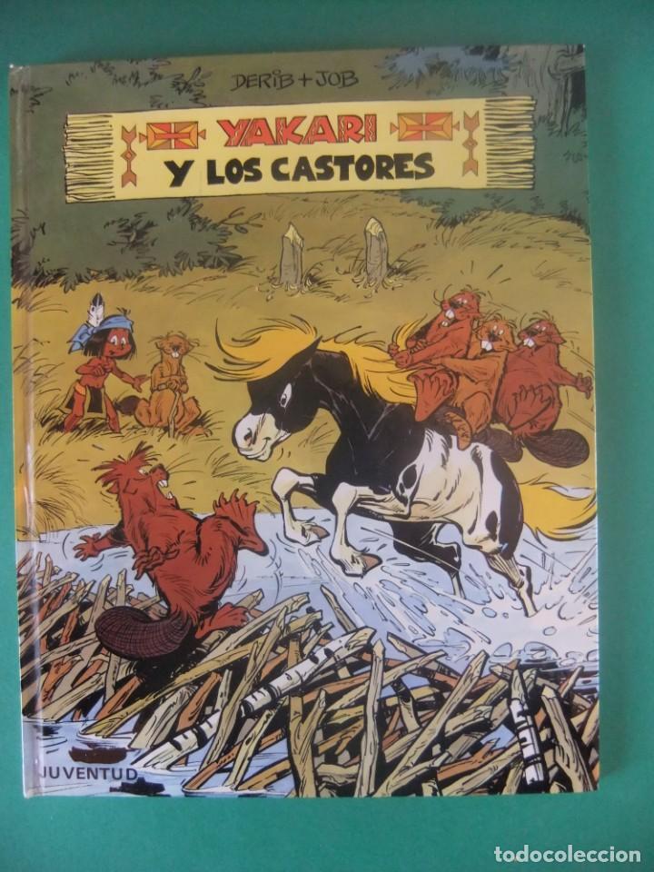 YAKARI Nº 3 YAKARI Y LOS CASTORES JUBENTUD 1980 (Tebeos y Comics - Juventud - Yakary)