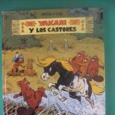Cómics: YAKARI Nº 3 YAKARI Y LOS CASTORES JUBENTUD 1980. Lote 226454690