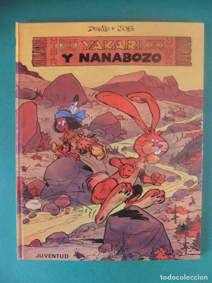 YAKARI Nº 4 YAKARI Y NANABOZO JUBENTUD 1980 (Tebeos y Comics - Juventud - Yakary)
