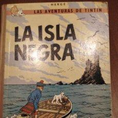 Cómics: SEGUNDA EDICIÓN DE LA ISLA NEGRA DE TINTIN EN CASTELLANO, (JUVENTUD) POR SÓLO SESENTA EUROS. Lote 226955720
