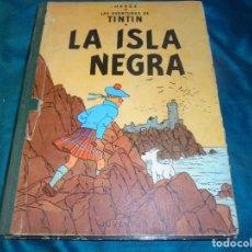 Comics: LAS AVENTURAS DE TINTIN. LA ISLA NEGRA. HERGÉ. EDT. JUVENTUD, 1ª EDC 1961. DIFICIL LOMO VERDE. Lote 227010995