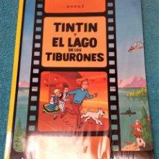 Cómics: LAS AVENTURAS DE TINTÍN: EL LAGO DE LOS TIBURONES. HERGÉ. ÁLBUMES TAPA BLANDA. JUVENTUD.. Lote 244714525