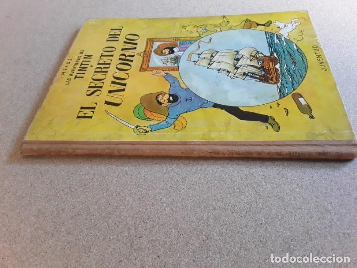 Cómics: Tintin el secreto del unicornio 3.ª edición juventud 1965 - Foto 4 - 227216515