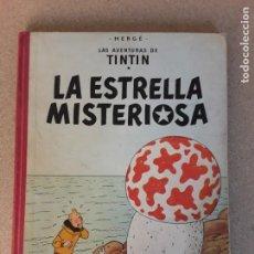 Cómics: TINTIN LA ESTRELLA MISTERIOSA 3.ª EDICIÓN JUVENTUD 1967. Lote 227217085