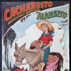 Cómics: CACHARRITO Nº 7 ''MANSITO''. Lote 227618955
