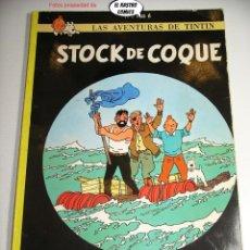 Cómics: TINTIN, STOCK DE COQUE, ED. JUVENTUD AÑO 1981, 26C. Lote 227992620