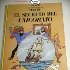 Cómics: TINTIN, EL SECRETO DEL UNICORNIO, ED. JUVENTUD AÑO 1981, TAPA DURA, 26C. Lote 227993800