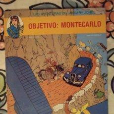 Cómics: LAS AVENTURAS DE JANUARY JONES Nº 1 - OBJETIVO MONTECARLO - JUVENTUD 1991 PERFECTO. Lote 228159195