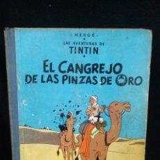 Comics : TINTÍN EL CANGREJO DE LAS PINZAS DE ORO, SEGUNDA EDICIÓN 1966. Lote 228254165