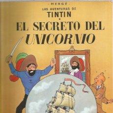 Cómics: TINTIN RUSTICA SECRETO UNICORNIO. Lote 228436065