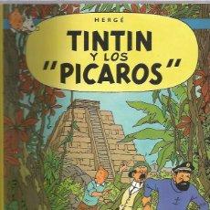 Cómics: TINTIN RUSTICA PICAROS. Lote 228439135