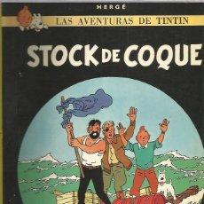 Cómics: TINTIN RUSTICA STOCK COQUE. Lote 228441595